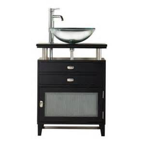 Bathroom Vanity Home Depot Home Decorators Collection Moderna 24 In W X 21 In D Bath Vanity In Black With Marble Vanity
