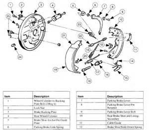 Brake Line Diagram For 1999 F150 Ford E150 Econoline 1999 E150 Need The Rear Drum Brake Diagram