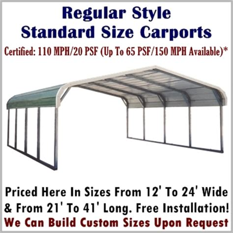 Steel Carport Prices Metal Carports Metal Carport Kits Steel Carport Kit