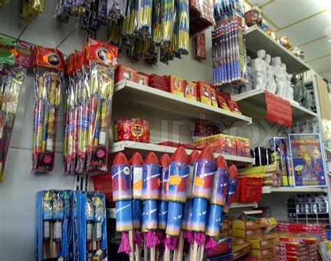 new year firecrackers for sale fireworks for sale in store stock photo colourbox
