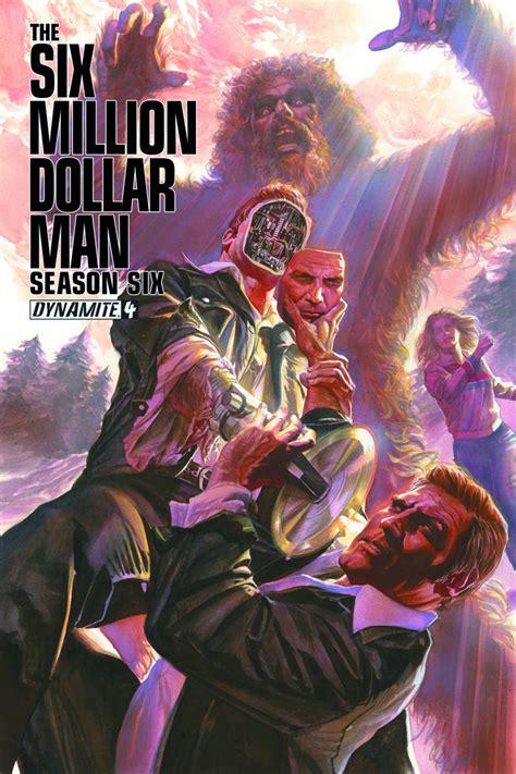 The Bionic Season Four Graphic Novel Ebooke Book previewsworld six million dollar season 6 4 100 copy gold sgn incv n