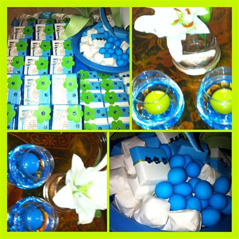 Blue And Green Baby Shower Decorations by Pin By Rycca Marles On Baby Shower Everything