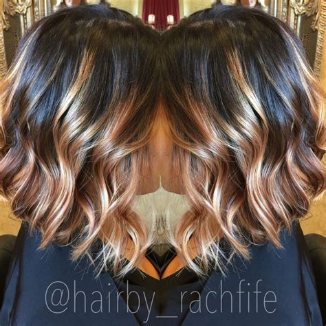 blonde bob root stretch dark stretched root with blonde balayage with a long bob
