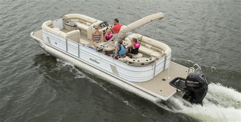 best small pontoon boats 2017 10 of the best pontoon boats for 2018 boat