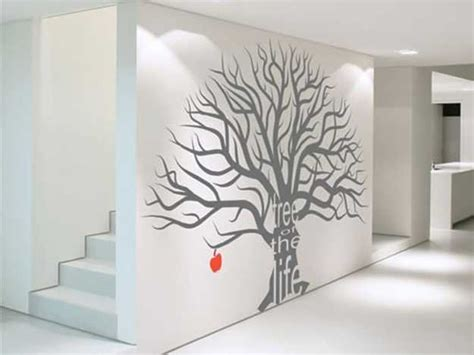 modern wall decor ideas 24 modern interior decorating ideas incorporating tree wall art