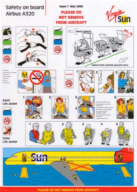 Collection Of Airline Safety Cards by 17 Best Images About Airline Safety Cards On