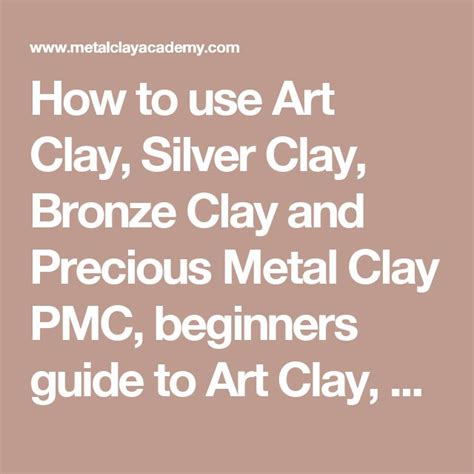 Beginners Guide To Selling Your Jewelry by 25 Best Ideas About Metal Clay Jewelry On