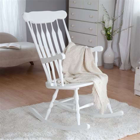 Kidkraft Nursery Rocker White Rocking Chairs At Wooden Rocking Chairs For Nursery