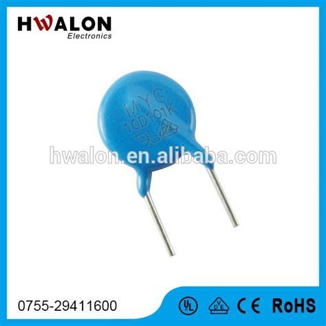 Varistor 10d112k varistor 10d471k 10mm 470v radial lead metal oxide