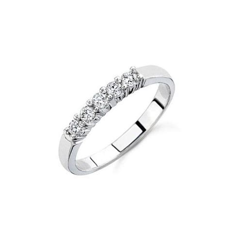 carat diamond women wedding ring band   white