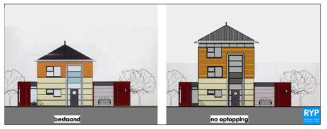 Verdieping Bouwen by Uitbouw Op Plat Dak Aanbouw Huis Voorbeelden