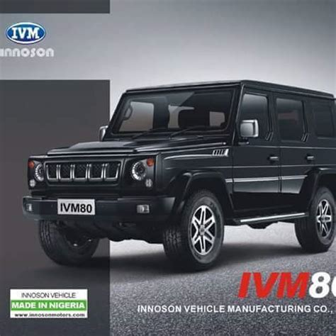 Motor Jeep Style Innoson Motors Unveil New Jeep Mercedes G Wagon Style