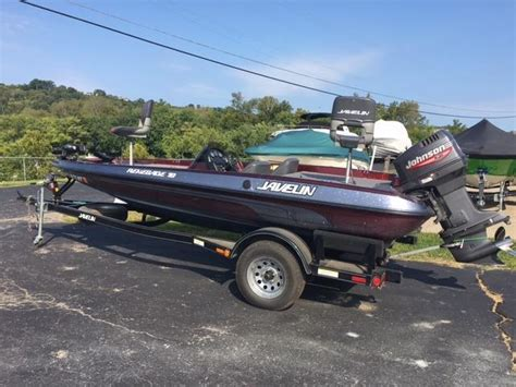 used bass boat dealers in ohio 1999 used javelin r18 bass boat for sale 7 500