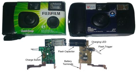 what capacitors are used in disposable cameras learn digilentinc design challenge