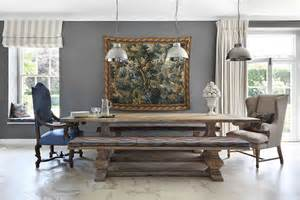 Chagne Dining Room Furniture 30 Unassumingly Chic Farmhouse Style Dining Rooms Best
