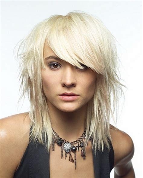 whats choppy hairstyles choppy medium length hairstyles