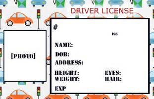 Blank Drivers License Template by 6 Best Images Of Drivers License Printable Template