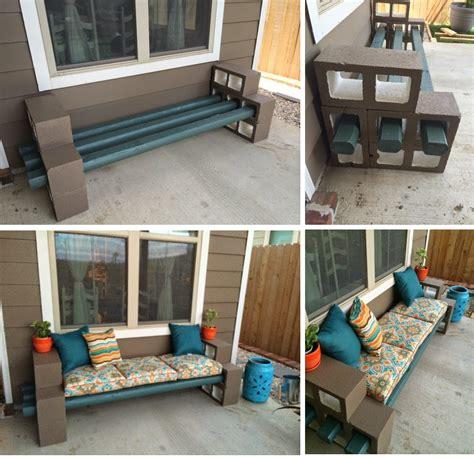breeze block bench the pry posse diy cinder block bench garden tips and