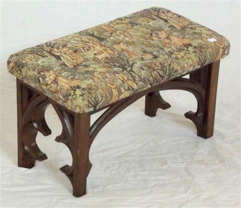 Prayer Stool Sale by Antique Carved Oak Sloping Prayer Kneeling Stool Upho