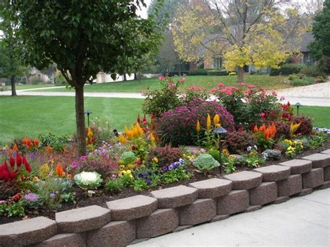 cheap flower bed ideas cheap and easy landscaping ideas the bungalow gets grass