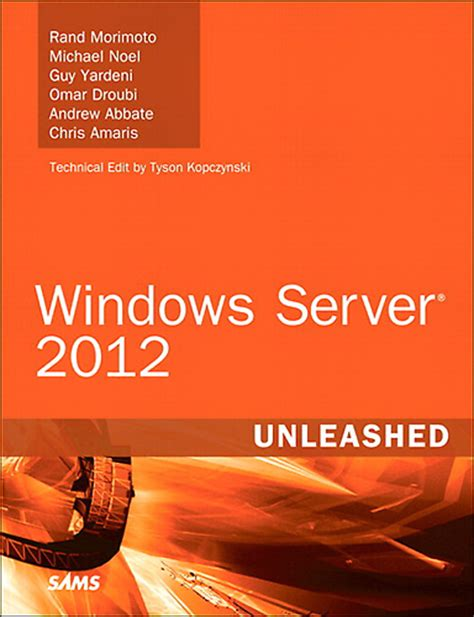 the in the window a novel books book review windows server 2012 unleashed new signature