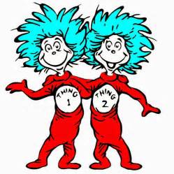 Thing 1 and thing 2 coloring page thing 1 and thing 2 coloring