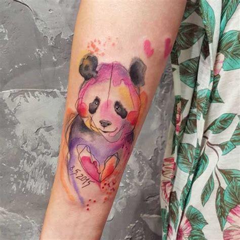 panda chest tattoo girl tumblr 25 perfectly cute panda tattoos tattooblend