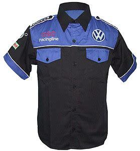 Polo Shirt Vw Racing race car jackets vw polo pit crew shirts