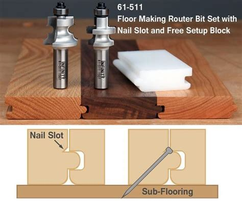 tongue and groove router tongue and groove flooring bits infinity tools