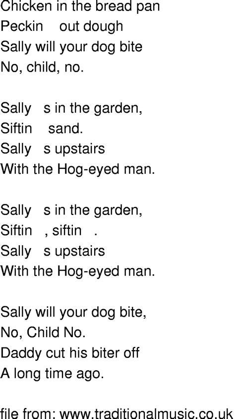 Lyrics In The Garden by Time Song Lyrics Sally In The Garden