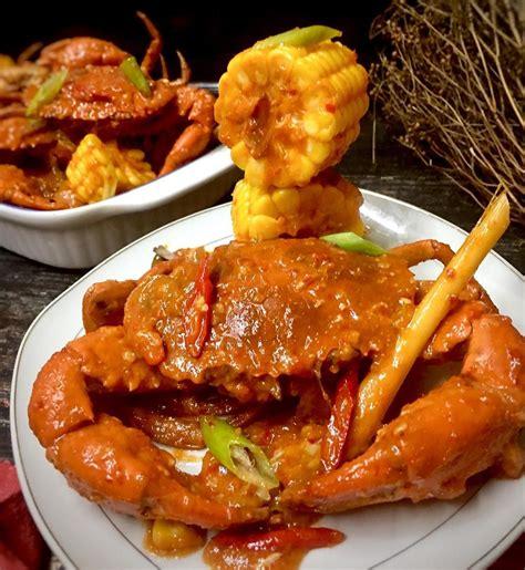 resep kepiting saus padang jagung istimewa seenak  resto