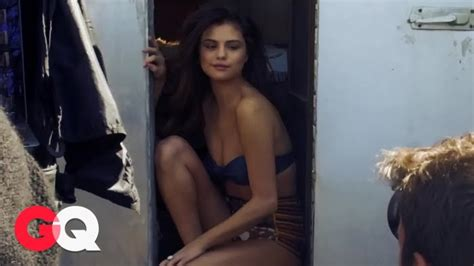 watch the women of gq behind the scenes with erin andrews gq go behind the scenes at selena gomez s sexy gq photo shoot