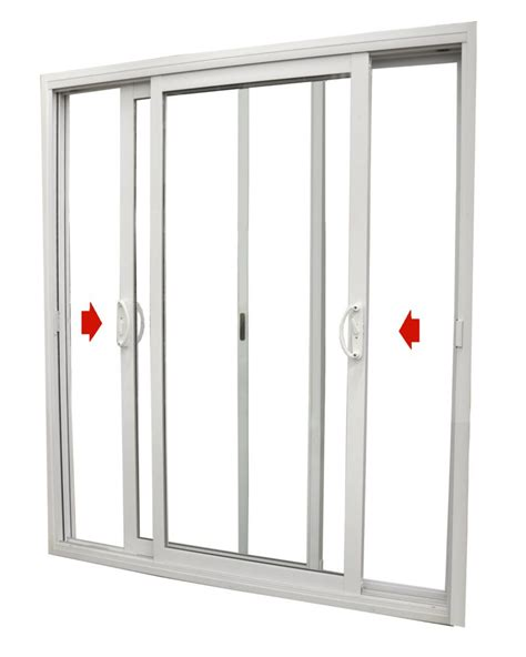 5 Foot Sliding Patio Doors Dualglide Patio Door Dualglide Sliding Patio Door With Low E Glass 6 Foot Wide X 79 1 2 High 5 3