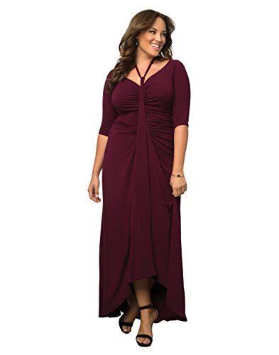 plus size draped dress kiyonna womens plus size divine draped maxi dress women