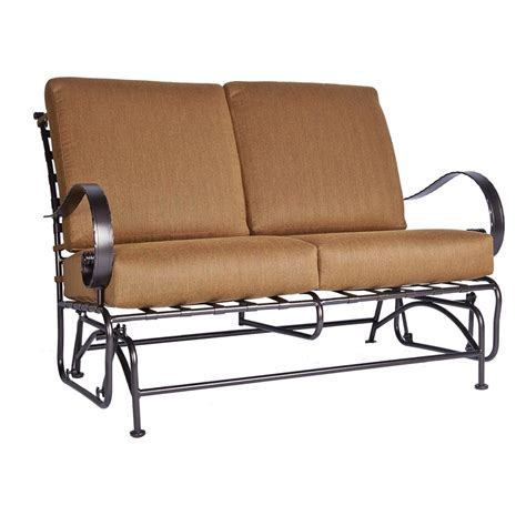 loveseat gliders ow lee classico w loveseat glider 956 2gw