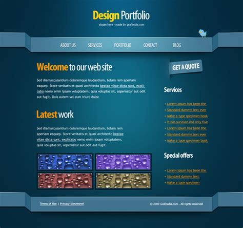 design html email in photoshop 30 best web design layout photoshop tutorials