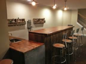 Industrial Style Kitchen Bar Design » Home Design 2017