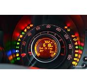 A Look At The Fiat 500 Instrument Panel  USA