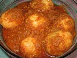bagaimana  memasak rendang telur