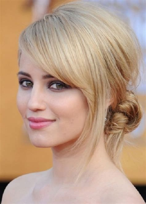sweeping fringe hairstyles 2014 top 100 prom hairstyles herinterest com