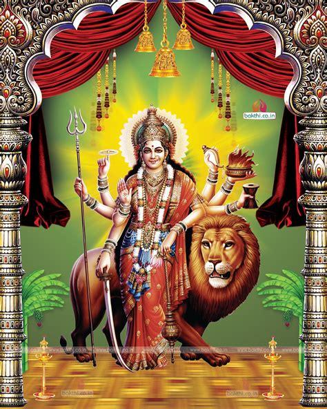wallpaper desktop goddess durga hindu famous god durga matha hi resolution wallpapers