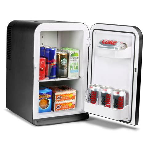 Chiller Freezer Mini chillmate thermoelectric mini fridge cooler and warmer black 15 litre mini fridges cooler