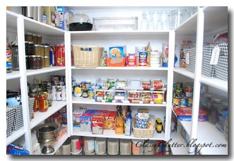 Kitchen Pantry Makeover by Kitchen Pantry Makeover Clutter