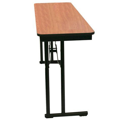 18 x 60 folding table midwest folding products folding table 18 quot x 60