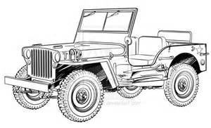 Drawing Jeep How To Draw Willys Jeep