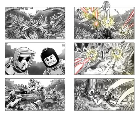 star wars storyboards star wars lego storyboards 2 by robking21 on