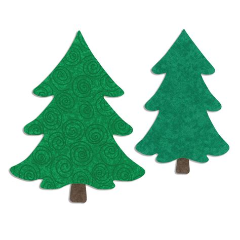 sizzix bigz l die quilting trees christmas