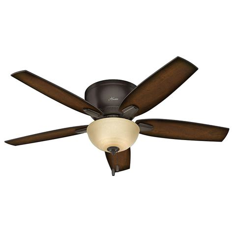 bronze ceiling fan oberlin 52 in indoor low profile premier bronze