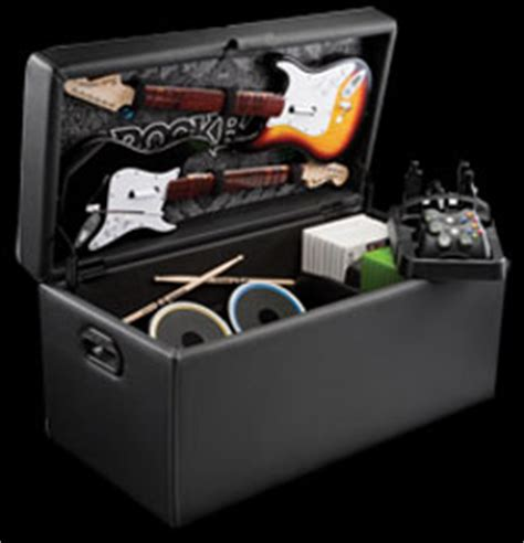 Rock Band Storage Ottoman Debuts From Levelup Slashgear Rock Band Storage Ottoman