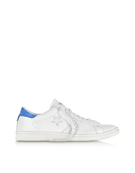 Converse Limited Edition Chair Print Shoe by Lyst Converse Cons Pro Leather Lp Ox White Dust And